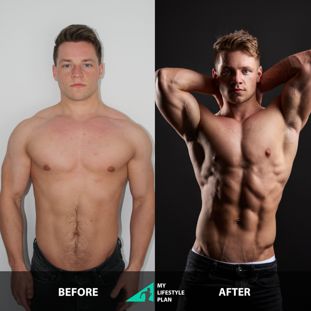 Transformatie Wessel My Lifestyle Plan